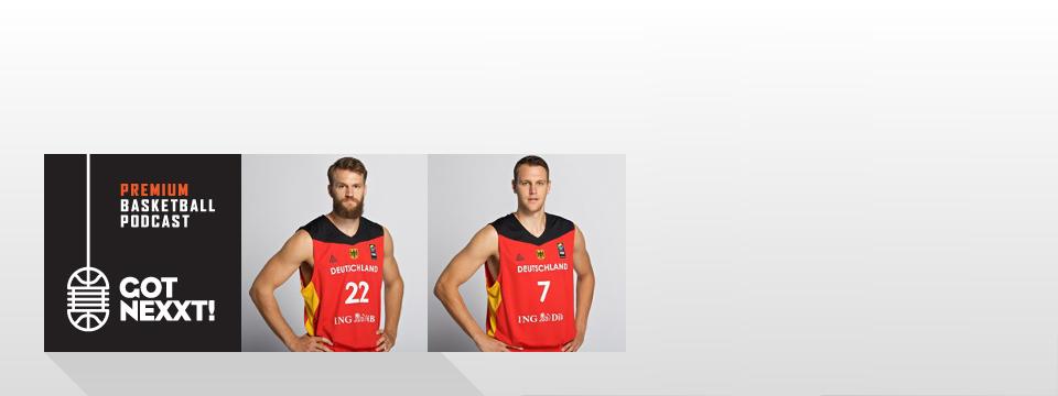 EuroBasket 2017: Danilo Barthel und Johannes Voigtmann